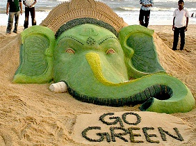 Ganpati Decoration Ideas Eco Friendly Ganpati Decorations