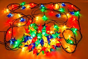 Ganpati Decoration Ideas Electric Lightings Garlands