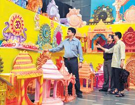 Ganpati Decoration Ideas Pandals Thermocol
