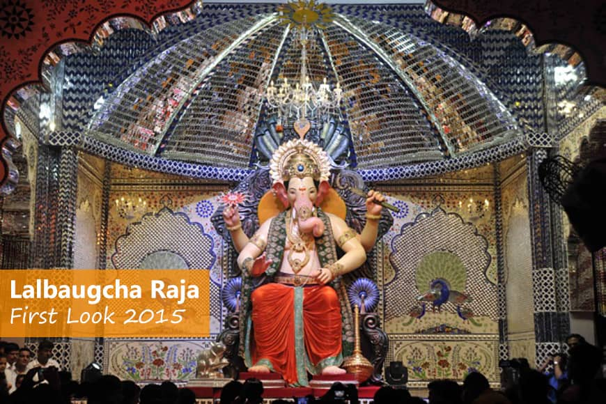 First look of Lalbaugcha Raja 2015